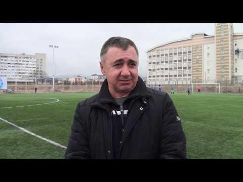 Интервью тренера юношеской команды ФШ Нальчик Нахушева К.Х. после игры ФШ Нальчик - Чегем 2.