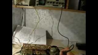 осциллограф  и звуковая частота.