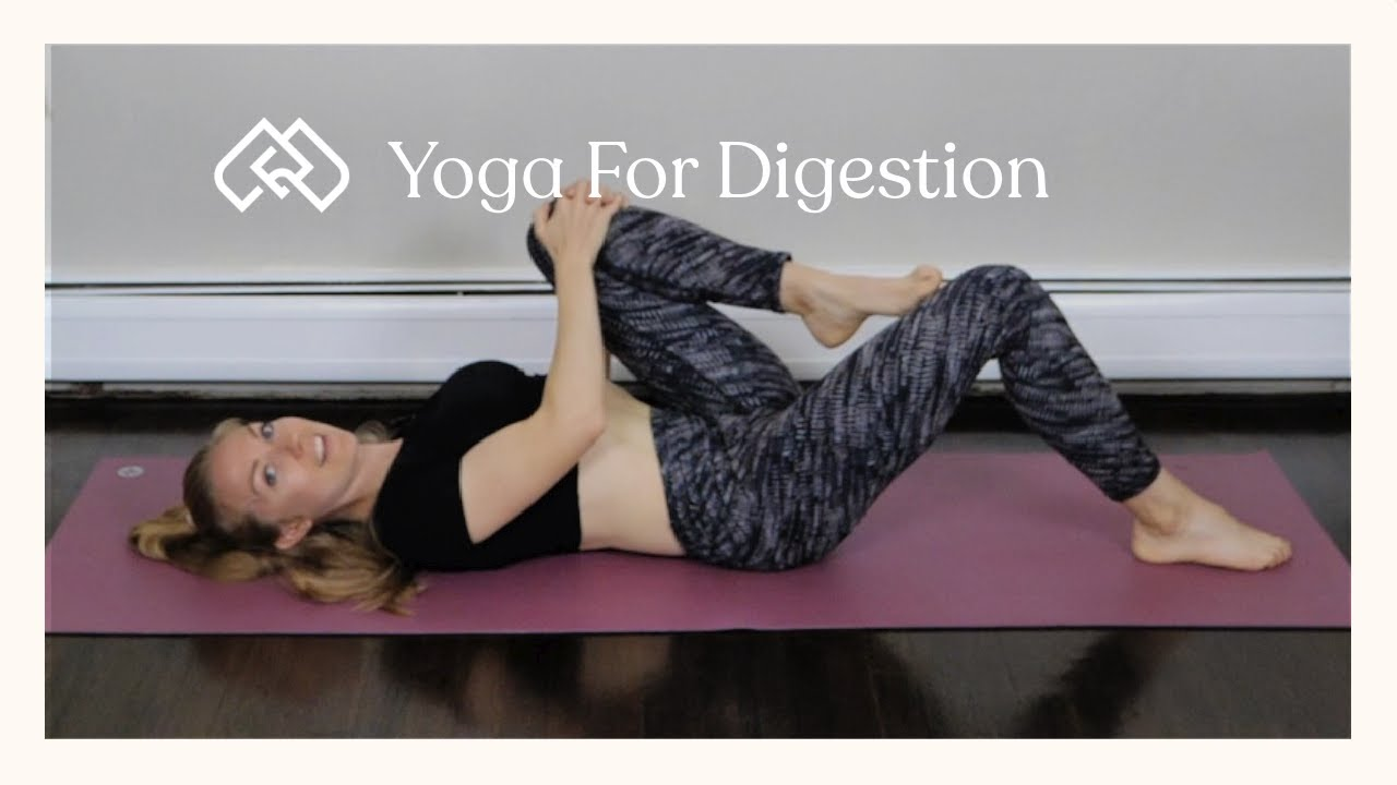 Ease Digestion with Yoga