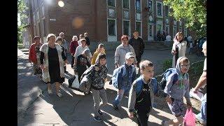 Детей Донбасса вывезли из зоны военных действий