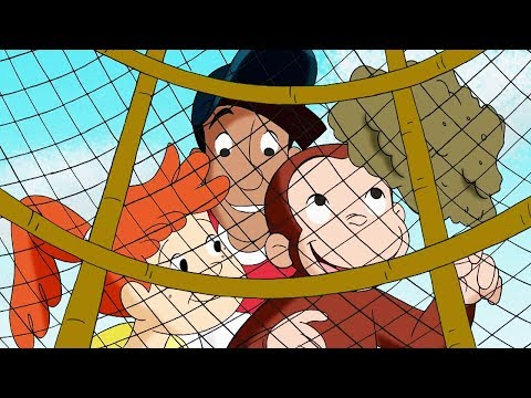 Curious George 🐵George and the Giant Thumb 🐵Kids Cartoon 🐵Kids Movies 🐵Videos for Kids