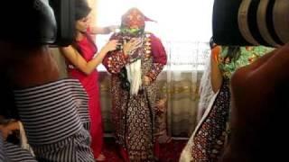 Туркменское национальное свадебное платье