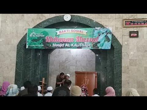 Baksos Khitanan Massal Masjid Al Kautsar