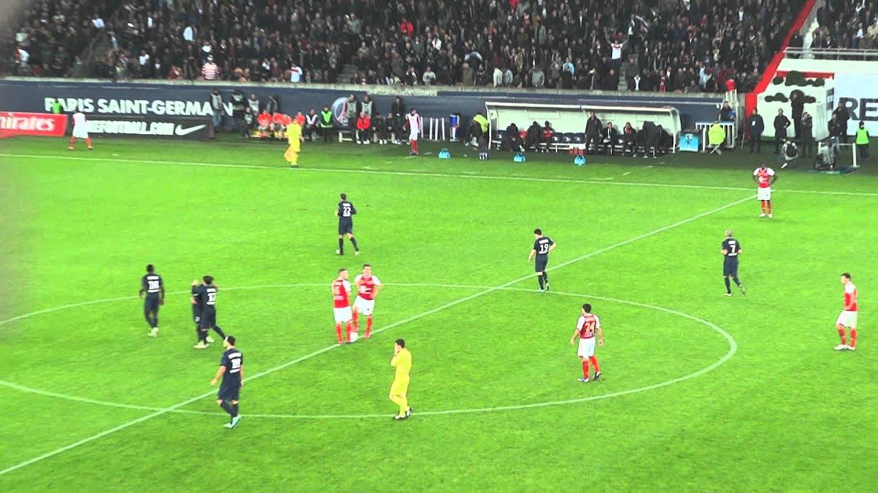 PSG / Reims 20.10.2012 : 1-0 (L1) 9/9 - Ambiance après le