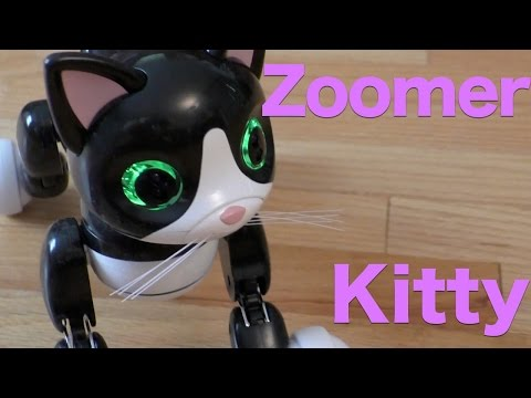 cf9baf5b9e0 Zoomer Kitty Review, The Interactive Pet Kitty Cat From Spinmaster - YouTube