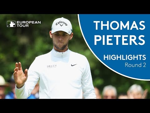Thomas Pieters Highlights | Round 2 | 2018 Belgian Knockout