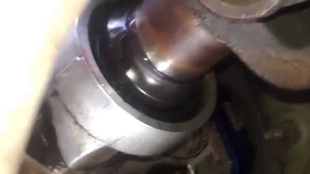 Mustang cobra output shaft seal - YouTube