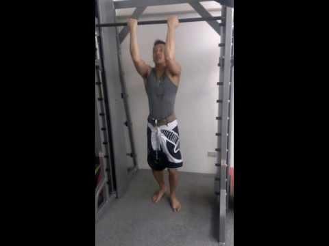 Raymond Wu健身訓練 - 首次負重拉單槓