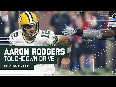 Aaron Rodgers Pulls Off a Houdini Move on TD Drive! | NFL Week 17 Highlights