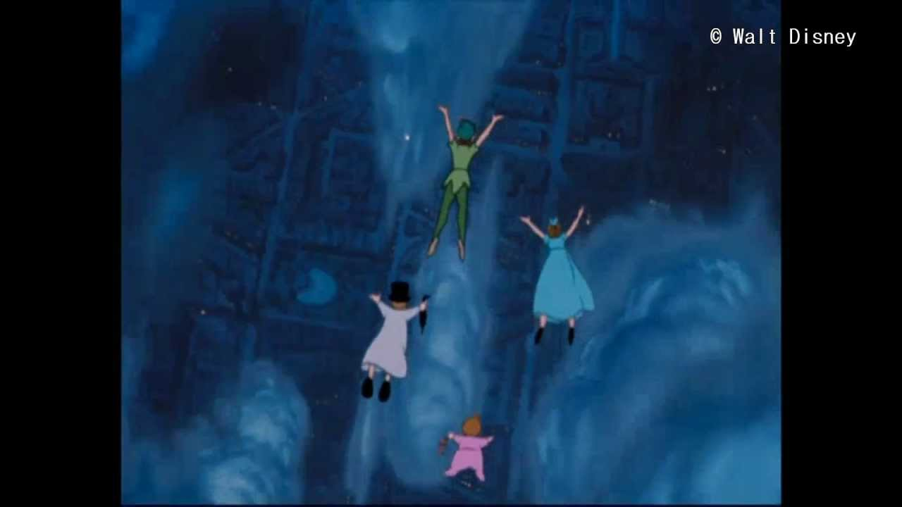 Peter Pan You Can Fly Finnish Hd Youtube
