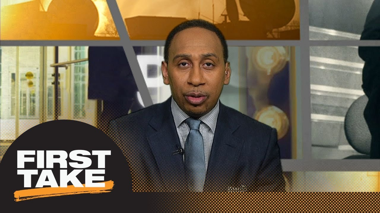 Stephen A. Smith: LeBron James is texting Kevin Durant about teaming up | First Take | ESPN