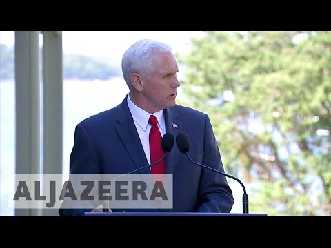 US vice president wraps up his Asia-Pacific tour