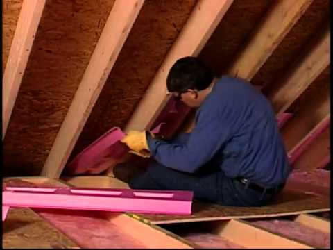 Owens Corning Atticat Blown In Insulation Youtube