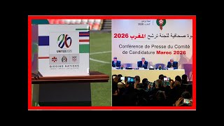 Breaking News | United 2026 vs. Morocco: How the FIFA voting will work