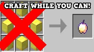 Minecraft Xbox / PE - CRAFT THIS WHILE YOU STILL CAN