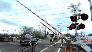 Railroad Crossing Double Heavy Slow Raising Gates
