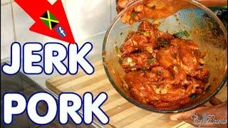 Christmas Jerk Pork !!! Jamaican Way