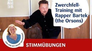 Stimmtraining - Stimmübungen fürs Zwerchfell mit Rapper Bartek (the Orsons)