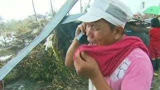 Haiyan survivor: My family is all gone