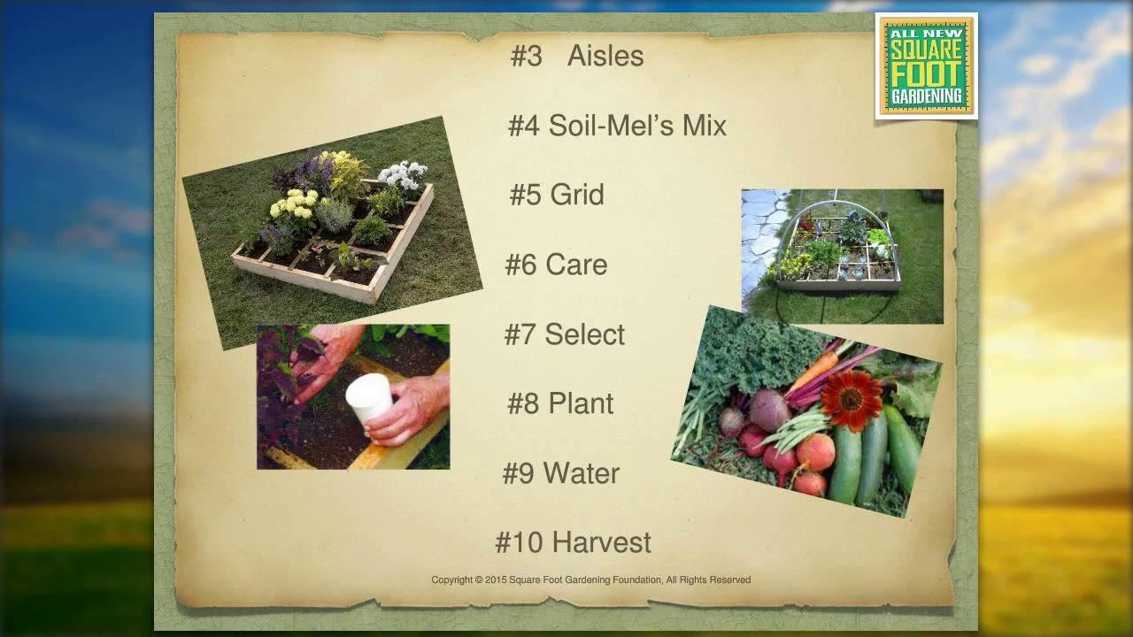 Square Foot Gardening Mini Class