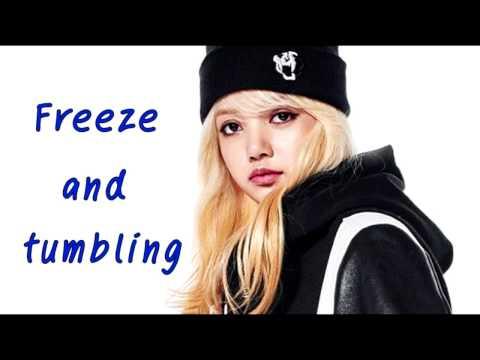 BLACKPINK LISA - Freeze And Tumbling