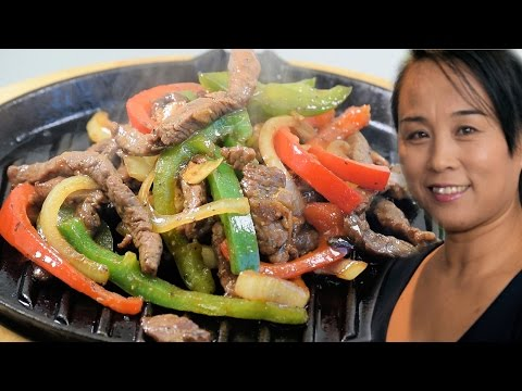 Sizzling Beef Steak Chinese Style