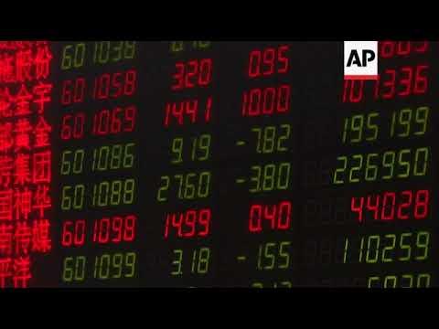 Markets in China, Taiwan and Hong Kong drop after Dow fall