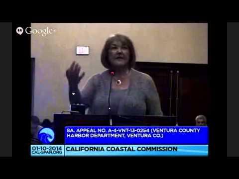 California Coastal Commission Mtg in San Diego, Jan 10th
