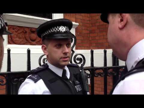 Legal Observer Arrested at Ecudorian Embassy