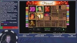 Big win ★  Faust ★ Novomatic slot, Played on Vihjeareena´s stream