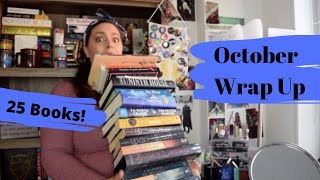 October Wrap Up | 25 Books including Ninth House by Leigh Bardugo!