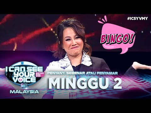 I Can See Your Voice Malaysia Musim 3 - Minggu 2
