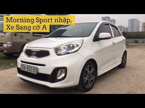 Chi tiết Kia Morning Sport xe Sang hạng A, pô kép, đồng hồ số thể thao sx 2011