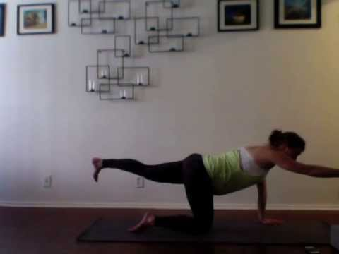 Pregnancy Yoga Week 20 - Halfway to Baby