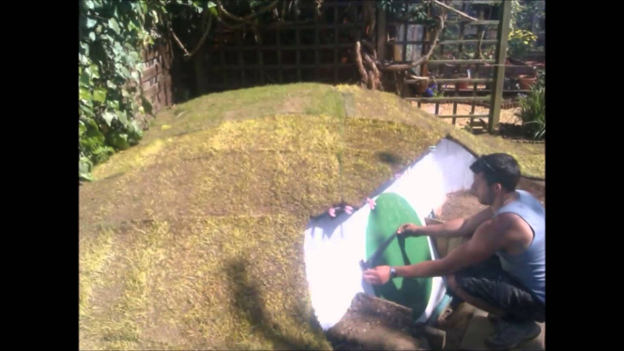 How To Build A Hobbit House How To Build A Hobbit House In Your Backyard Slideshow Youtube