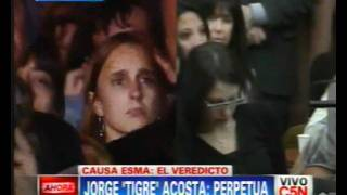 "C5N - CAUSA ESMA: CONDENA A JORGE ""TIGRE"" ACOSTA"