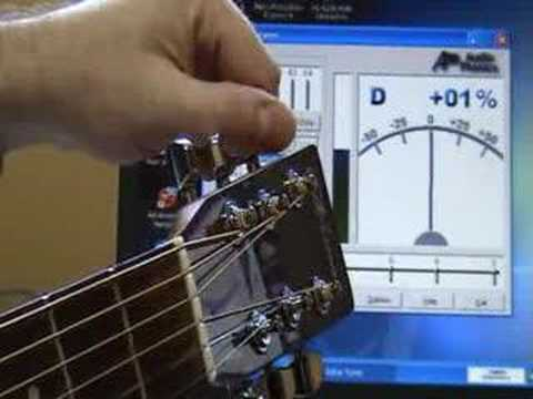Comment accorder une guitare - YouTube