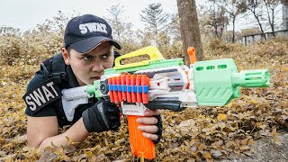 LTT Game Nerf War : Warriors SEAL X Nerf Guns Fight Crime group Braum Crazy TOP 10 Best Hunters