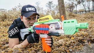 LTT Game Nerf War : Warriors SEAL X Nerf Guns Fight Crime group Braum Crazy TOP 10 Best Hunters