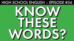 Vocabulary for college-bound students