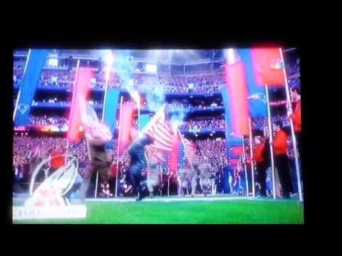 New England Patriots  Super Bowl 49 Entrance