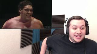 Andre The Giant Official Trailer #2 ft  Vince McMahon, Hulk Hogan, Arnold Schwarzenneger -REACTION-