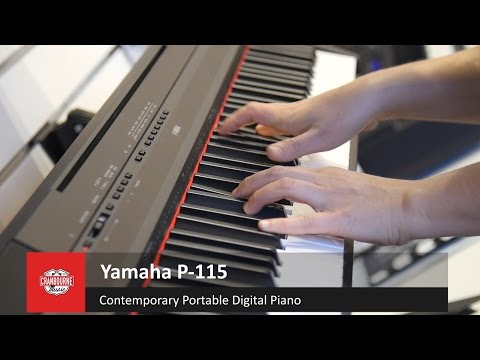 Yamaha P115 Portable Digital with Kate