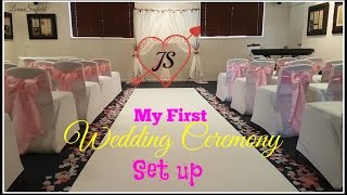 How to Set Up Wedding Ceremony Venue