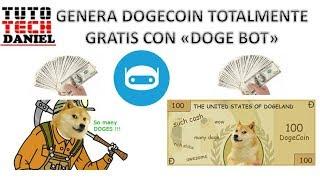 Genera Dogecoin Gratis Con Este Nuevo Bot De Telegram   Junio 2018
