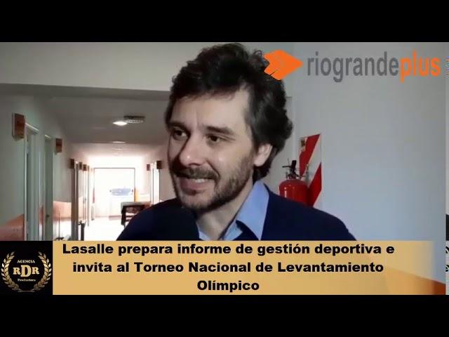 Lasalle prepara informe de gestión e invita al Torneo Nacional de Levantamiento Olímpico