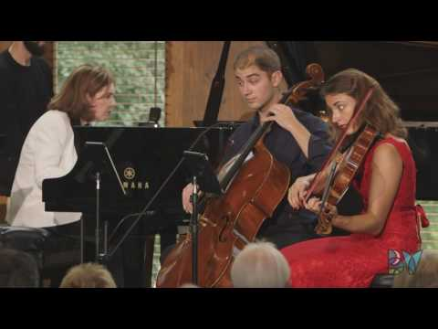Dover String Quartet performs Brahms Quintet with McDermott on piano | Bravo! Vail 2016 season