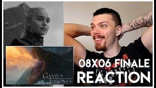 Game Of Thrones : Season 8 Episode 6 REACTION (ADIEU) & Review!