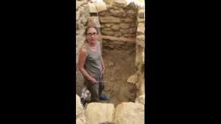 UC's Sharon Stocker in Warrior's Tomb