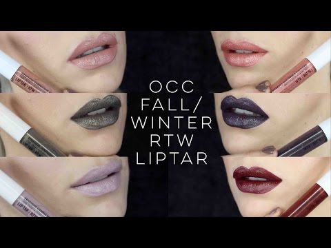 Obsessive Compulsive Cosmetics Fall/Winter RTW Liptar | Asphalt Collection